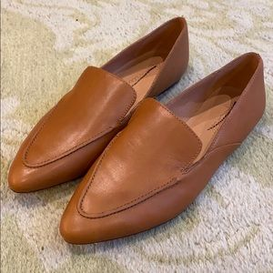 Madewell Frances Skimmer in Leather AH770 flats